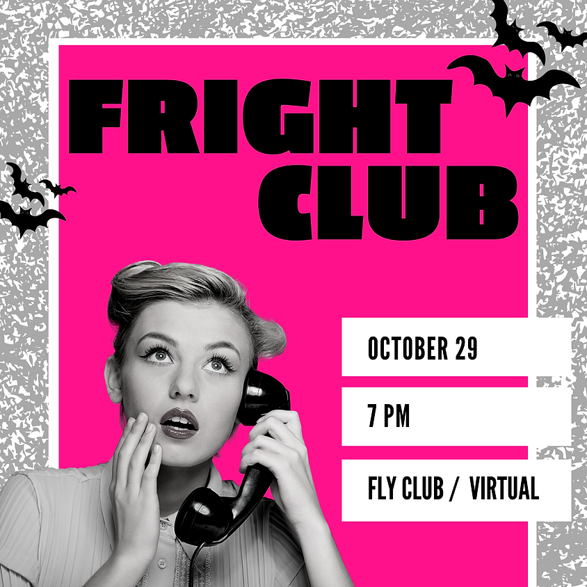 FRIGHT CLUB SAVE THE DATE