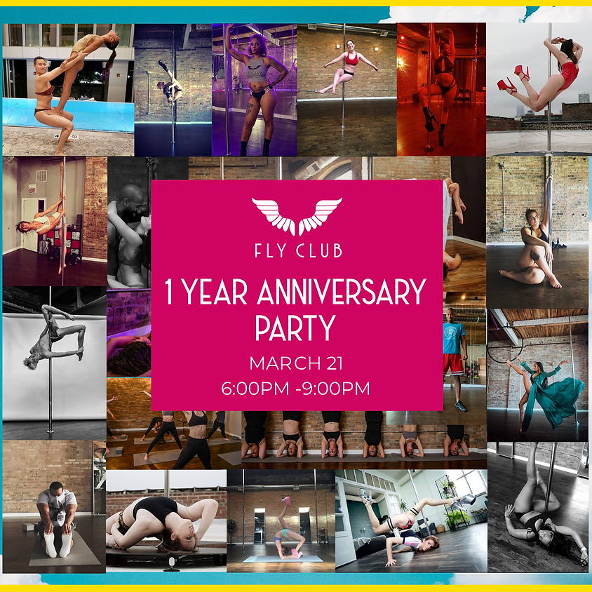 1 YEAR ANNIVERSARY PARTY