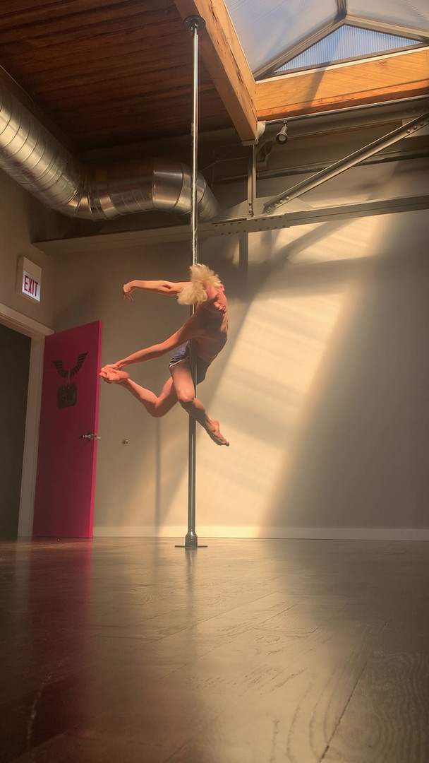 LIGHT ROOM POLE DANCE- FLY CLUB STUDIO