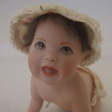 Crawling Baby #effiesdolls.com