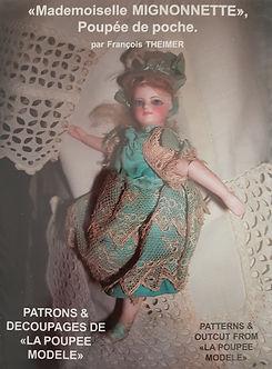 Mademoiselle Mignonnette Poupee de poche #effiesdolls.com