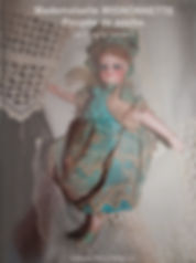 mademoiselle Mignonnette Poupée de poche par Francois Theimer New soft cover$125 effiesdolls.com