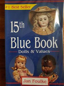15th Blue Book Dolls & Values #effiesdolls.com