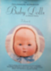 The Dollmakers Workbook Baby Dolls By Mildred Seeley Volume 1 Great condition soft cover $10 effiesdolls.com