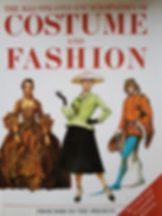 The Illustrated Encyclopaedia of Costume and Fashion Excellent condition, Hard cover $20 effiesdolls.com