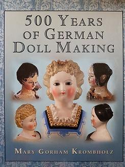 500 Years of German Doll Making #effiesdolls.com
