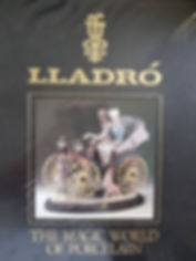 LLADRO The magical world of porcelain Excellent condition hard cover $25 effiesdolls.com