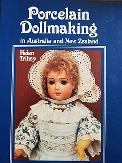 Porcelain Doll Making in Australia and New Zealand by Helen Trihey #effiesdolls.com