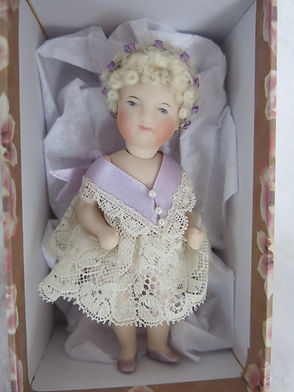 Small Full Porcelain Doll #effiedolls.com