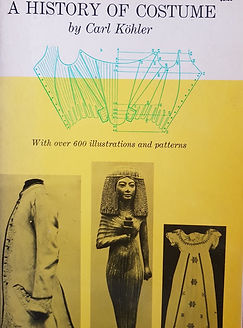 The History of Costume by Carl Kohler #effiesdolls.com