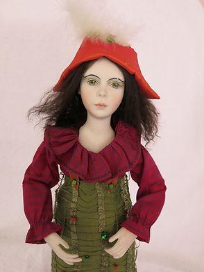 Petite Pierrot #effiesdolls.com