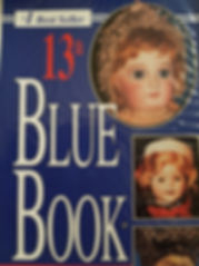 13th Blue Book Excellent condition, soft cover $5 effiesdolls.com