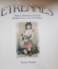 Etrennes Florence Theriault Excellent Condition, Hard cover $40 effiesdolls.com