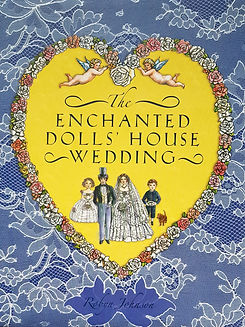 The Enchanted Doll's House Wedding #effiesdolls.com