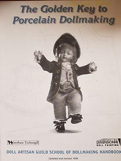 Golden Key to Porcelain Dollmaking #effiesdolls.com