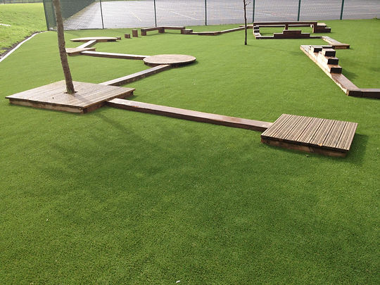 Artificial grass Swindon garden