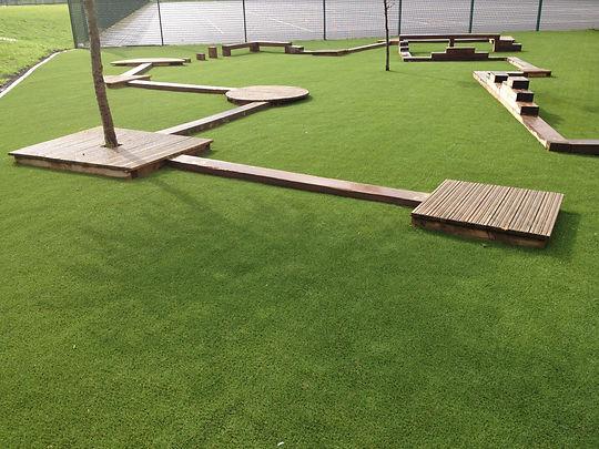 Artificial grass Swindon garden