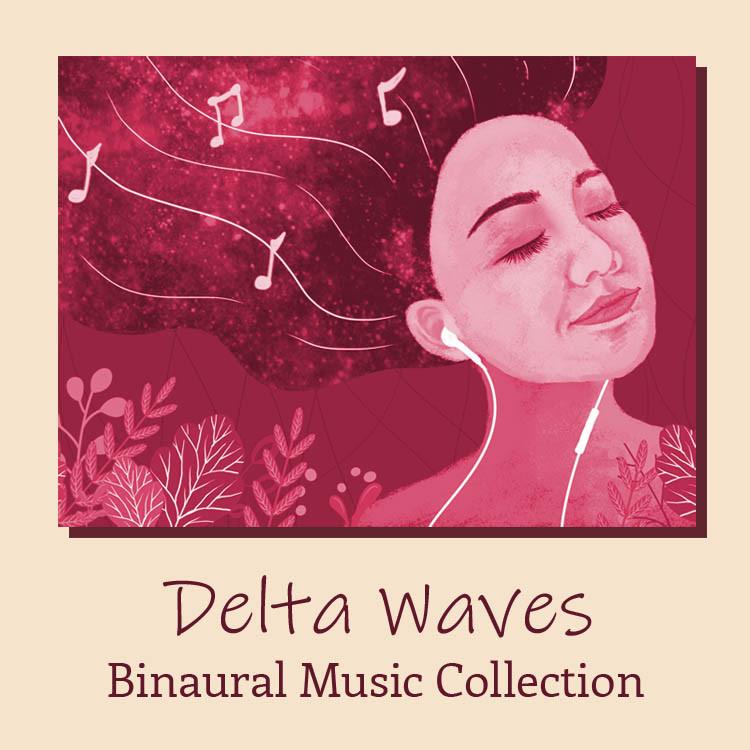 Delta waves binaural music collection