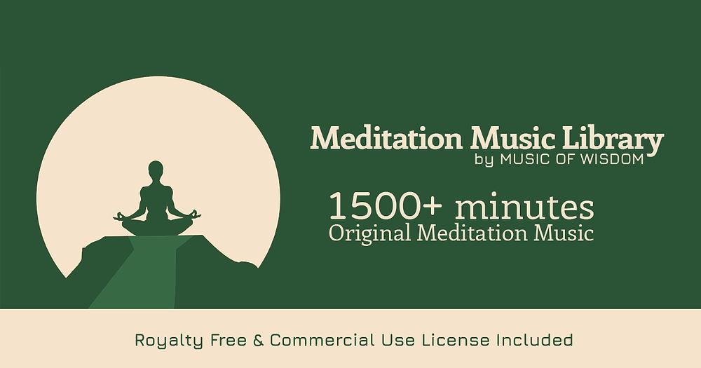 royalty free meditation music - music of wisdom - meditation music library