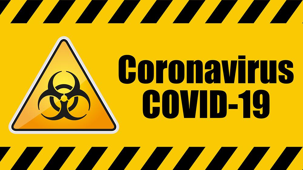 Coronavirus COVID-19 Biohazard Warning Sign