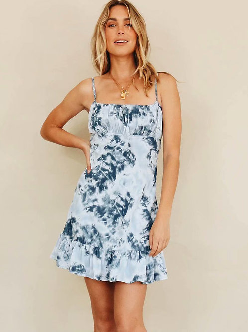 Moxie Tie Dye Dress