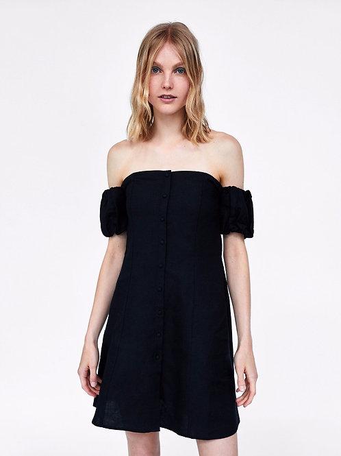 Amber Linen Dress