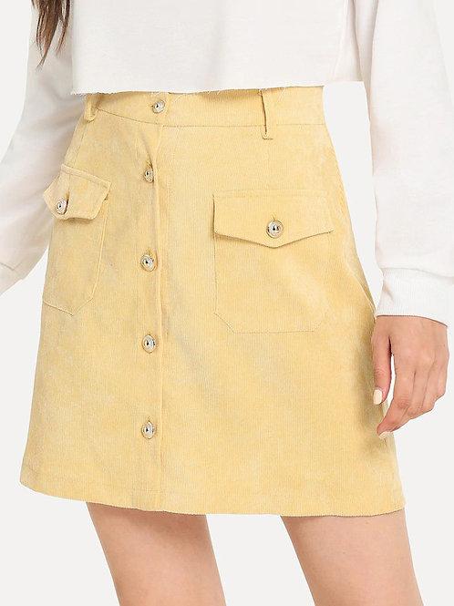Naud Corduroy Skirt