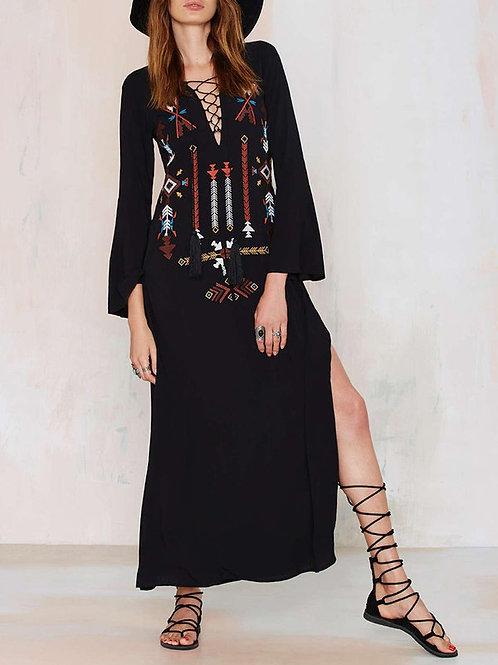 Kamoana Embroidery Dress