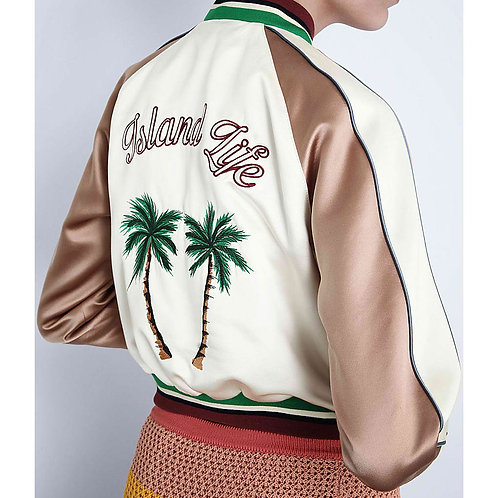 Island Life Embroidery Jacket
