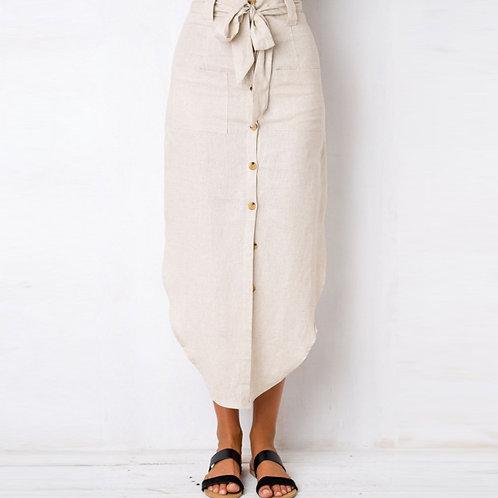 Latifah Linen Skirt