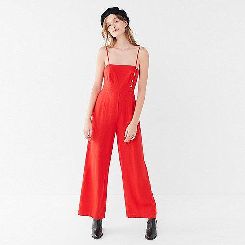Madden Linen Jumpsuit