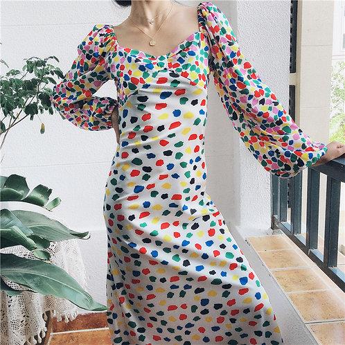 Astana Long Dress