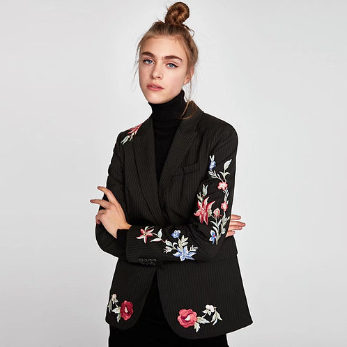 Catalina Embroidery Blazer