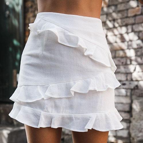 Chastity Linen Skirt