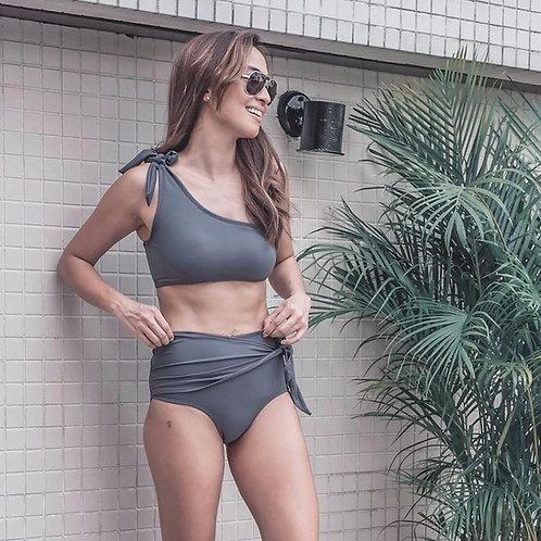 Havika Bikini Set - Steel Blue