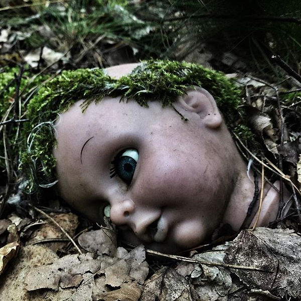 In the forest #doll #vintage #forest #na