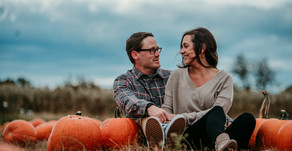 TERHUNE ORCHARDS AUTUMN ENGAGEMENT, LAWRENCE TOWNSHIP, NJ – MATT AND MICHELLE