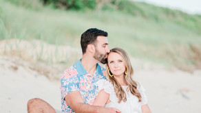 CAITLIN + JOE | HARKNESS PARK AND EOLIA ENGAGEMENT SESSION, WATERFORD CT