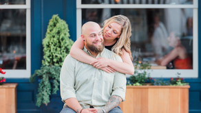 JENNIFER + SEAN | DOWNTOWN MYSTIC ENGAGEMENT SESSION, MYSTIC CT | CASUAL NAUTICAL ENGAGEMENT