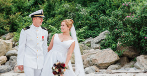 SARAH + GEORGE | GREAT NECK COUNTRY CLUB, WATERFORD CT  | CHIC NAUTICAL WEDDING