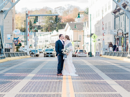 ANNEMARIE + JOSEPH | PINK AND DUSTY BLUE WEDDING | LATITUDE 41, MYSTIC, CT