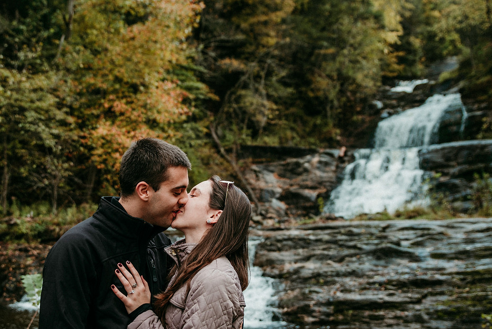 kent falls proposal and engagement