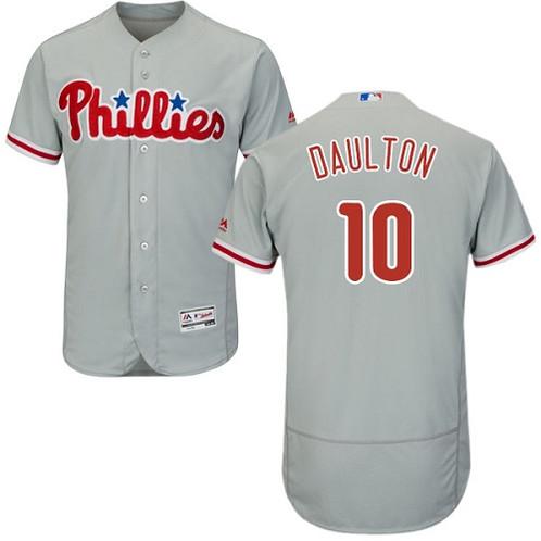 new styles df446 62399 Darren Daulton Philadelphia Phillies Majestic Jersey