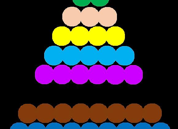 La pyramide de perles