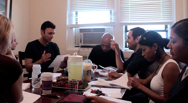 An example of a table read.