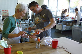 Hands-on cookie decorting classe
