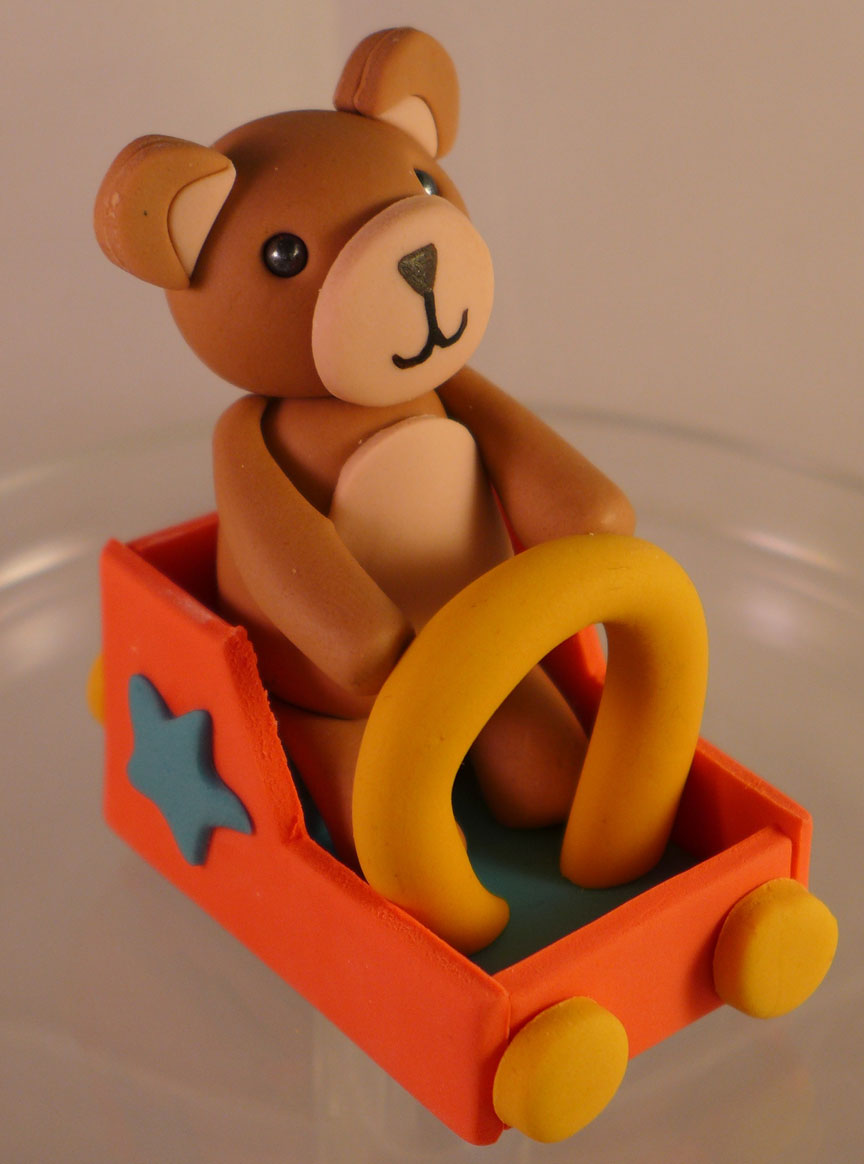Bear Riding a Ferris Wheel