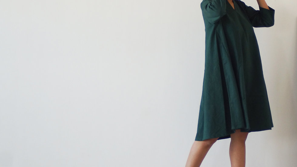 The Lush Woodland Dress