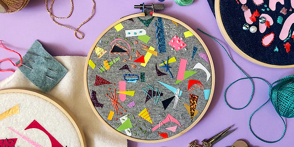 MINDFUL EMBROIDERY EVENING