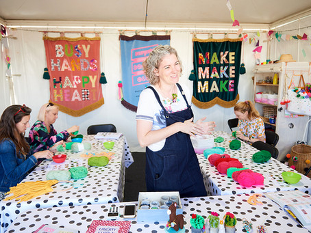 10 things I learnt at the Handmade Festival